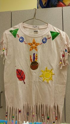 Preschool Native American/Indian shirt