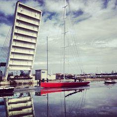 Moro di Venezia alla #Darsena di #Ravenna #racineravenna  Photo by rudyshecat