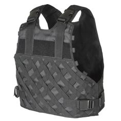 Voodoo Tactical I. Variable Advanced Assault Tactical (VAAT) Plate Carrier Nylon Small and Medium Black Tactical Chest Rigs, Tactical Vest, Tactical Plate Carrier Vest, Molle Gear, Voodoo Tactical, Molle Pouches, Duty Gear, Shooting Gear, Hunting Rifles