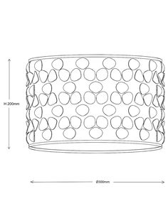 Buy John Lewis & Partners Clara Cutwork Drum Shade, White from our Ceiling & Lamp Shades range at John Lewis & Partners.