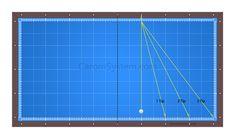 [당구 각 계산법] 당점 계산법 (중단 1팁, 2팁, 3팁) Line Chart, Golf, Gardening, Sports, Hs Sports, Lawn And Garden, Sport, Turtleneck, Horticulture