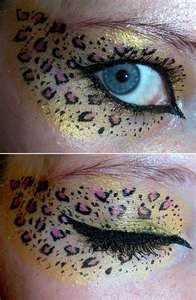 Leopard Eye Makeup | Eye Makeup Photos - Click image to find more Design Pinterest pins