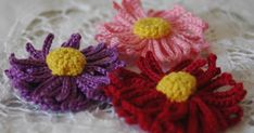 LINDAPAULA: Flor de ganchillo con cincuenta pétalos.