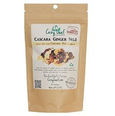 Cascara Ginger No1 Cozy Leaf Gourmet Artisan Tea Blend Coffee Cherry Tea 100 Hawaiian grown >>> Click image to review more details.