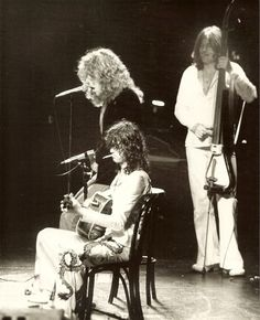 Acoustic Set~Jimmy Page, Robert Plant & John Paul Jones