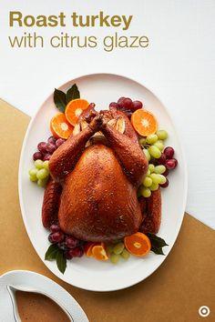 Roast Turkey with Citrus Glaze