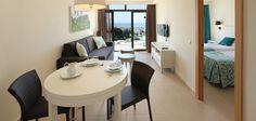 Apartment Living Room at Hotel Revoli, Puerto Rico, Gran Canaria.