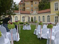 Hochzeit mit viel Pink #Flowers #Wedding