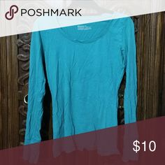 Long Sleeve Shirt Soft, scoop neck, wide shoulders Mossimo Supply Co. Tops Tees - Long Sleeve