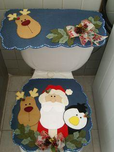 juego de baño Santa y sus amigos