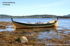 Innherredsbåter fra Trøndelag - Wooden boats from Innherred, Trondheim fjord, Trøndelag, Norway - Trerøring - Vikingskip og norske trebåter - Viking ships and norse wooden boats