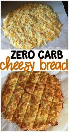 Keto No Carb Cheesy Bread Recipe - Crafty Morning