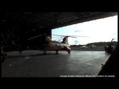 Avions à réaction et et hélicoptères au Musée de l'aviation et de l'espace du Canada