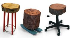 @ Trenda - you could make some big chairs and even a couch with those trees in your part of the country!