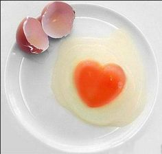 Wonders of Egg Art Egg Shell Art, Eggman, Egg Toast, I Love Heart, Egg Shells, Shapes, Eat, Breakfast, Recipes