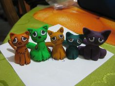 Sad Coloured Cats.