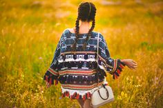Chaqueta conchas Pull & Bear ethnic jacket Crimenes de la Moda blog Maria Jesus Garnica Navarro