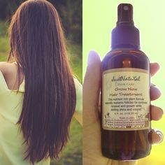 Chemicals in hair products, excessive styling methods, stress, hormonal changes, medicines and nutrition are some factors that can cause hair follicles to go dormant and stop growing. This Grow New Hair Treatment helps your follicles remain healthy. This nutrient rich 100 % natural and organic formula naturally sustains follicles for continued renewal and growth of healthy hair.