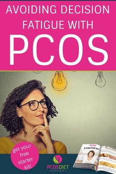 Decision fatigue with PCOS - is it causing you to repeatedly fall off the bandwagon or making it difficult to stick with a PCOS friendly lifestyle? Pcos Disease, Treatment For Pcos, Decision Fatigue, Work Out Routines Gym, Pcos Symptoms, Polycystic Ovarian Syndrome, Pcos Diet, Insulin Resistance, Make Good Choices