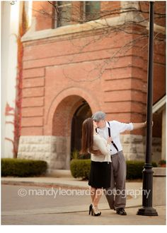 vintage inspired engagement shoot :)  mandy leonards photography