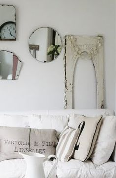 architectural pieces & mirrors