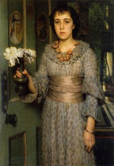 Anna Alma-Taldema by her father Lawrence Alma-Tadema