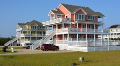 Rental homes in Waves, NC Rental Homes, Banks, North Carolina, Places To Go, Trips, Mansions, House Styles, Building, Home Decor