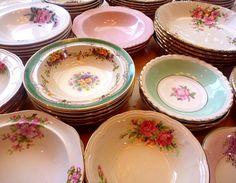 Vintage Dessert & Soup Bowls ws: The Vintage Table
