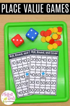 Teaching place value in grade is an important mathematical concept for students to master. Learning more complex place value strategies will help Fun Math, Maths, Math Fractions, Multiplication, Math Games, Rounding Numbers, Comparing Numbers, Place Value Games, Teaching Place Values