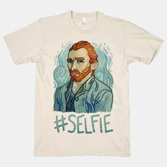 Let the world know who really invented the selfie with this art history-inspired shirt