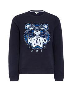 Kenzo Statement sweater met tijgerkop