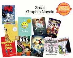 Summer is a great time to read something different. If you usually read novels, try one of these graphic novels! #SummerReading