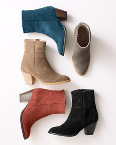 Giorgia Ankle Booties, Garent Hill $198