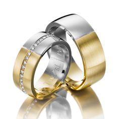 Verighete aur alb si aur galben MDV676 #verighete #verighete7mm #verigheteaur #verigheteauraplicatie #magazinuldeverighete Wedding Couples, Wedding Bands, Engagement Rings, Model, Jewelry, Diamond, Enagement Rings, Wedding Rings, Jewlery