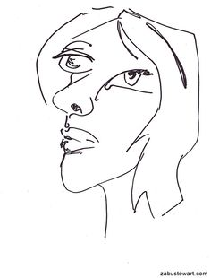 "Zabu Stewart - A drawing from a series entitled ""As gods made them"". :: zabustewart.com"