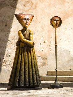 """Sergio Bustamante - Colección / Sculptures / Resin """"el subcontiente"""""""