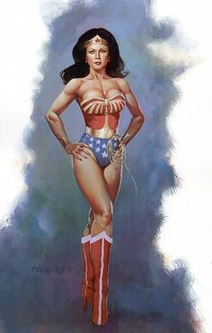Lynda Carter is the one and only true Wonder Woman by Alex Horley