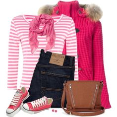 A fashion look from November 2014 featuring Weekend Max Mara tops, Bark coats and Hollister Co. jeans. Browse and shop related looks.