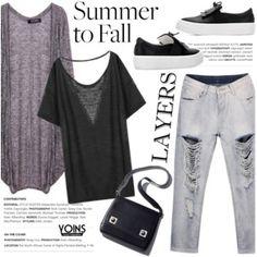 Yoins (summer to fall layering)