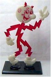 Reddy Kilowatt (use electrical appliances, please)