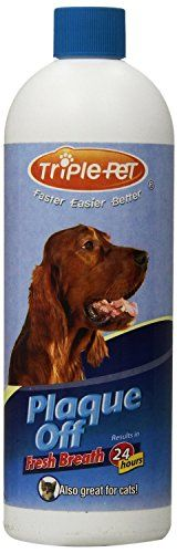 PLAQUE OFF Fresh Breath for Dogs and Cats Size16 Oz PacksPack of 2 -- Read more reviews of the product by visiting the link on the image.(This is an Amazon affiliate link and I receive a commission for the sales)