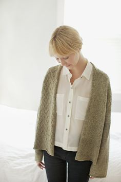 Ando cardigan from Brooklyn Tweed