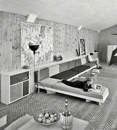 Jose Luis Sert house NY 1952