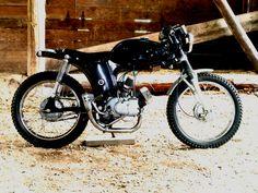 YG5T 1968 Yamaha Trailmaster 80 Cafe' Project 2015