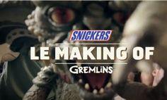 Gremlins ou Chantal Goya ? Snickers, t'es pas toi quand t'as faim Blog Saveurs du net - Eat, drink and geek