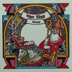 Sinterklaas sticker