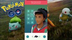 Pokemon Go: Character Creation Settings
