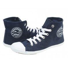 Bascheti dama Trespass Danii navy blue High Tops, High Top Sneakers, Navy Blue, Sports, Fashion, Tennis, Hs Sports, Moda, Fashion Styles