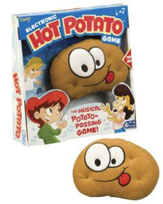 Hot Potato by Fundex Games. This is one of my FAVORITE play therapy toys--I can think of so many ways to use this musical hot potato in sessions with children, groups, and families. Kids Party Games, Games For Kids, Activities For Kids, Kids Fun, Hot Potato Game, Counseling Activities, Speech Activities, School Social Work, Music Therapy