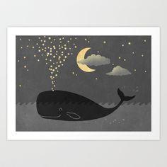 Starmaker Art Print by Terry Fan - $18.00